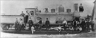 NGR 4-6-2TT Havelock - Havelock as a Mikado type, as built, circa 1888