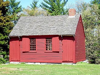 East Haddam Historic District - The Nathan Hale Schoolhouse