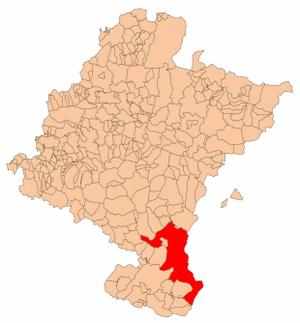 Bardenas Reales - Bardenas of Navarra.