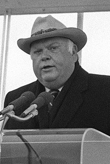 Ned R. McWherter speaking at a ceremony, Dec 17, 1988.JPEG