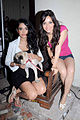 Neha Sharma, Sarah Jane Dias at the Promotion of 'Kyaa Super Kool Hain Hum' 09.jpg