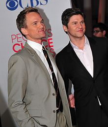 Neil Patrick Harris (Barney Stinson) et David Burtka (Scooter)