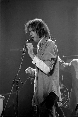 Neil Young - Young in Austin, Texas, on November 9, 1976