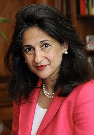 London School of Economics - Nemat Shafik is the director of LSE