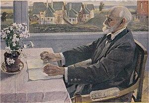 Ivan Pavlov - Pavlov in 1935, by Mikhail Nesterov