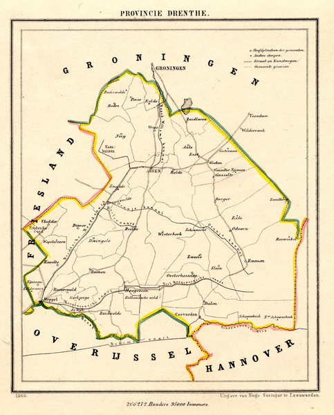 File:Netherlands, Province of Drenthe, map of 1866.PNG