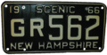 New Hampshire 1966 license plate.png