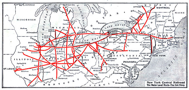 Railroad System History Central Railroad System at