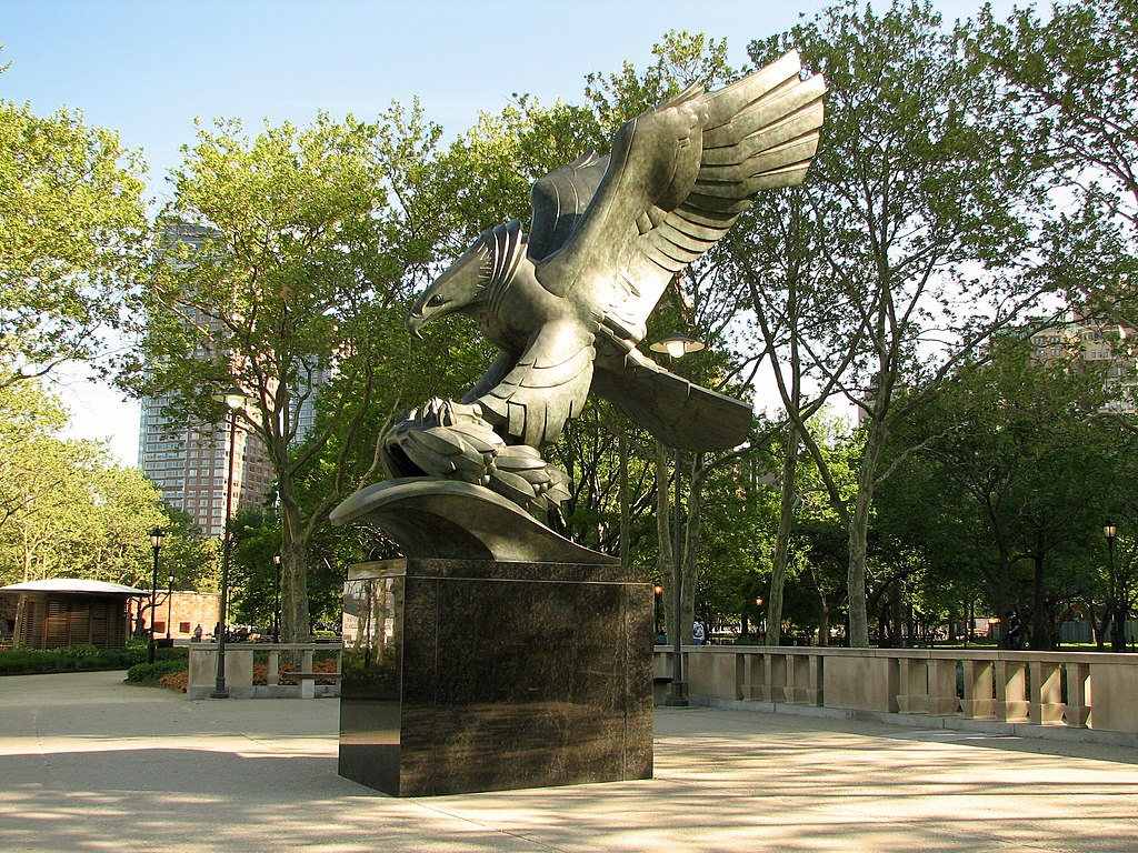 The Eagle Statue - Battery Park
