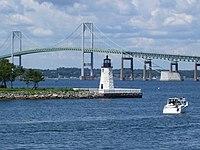 Newport Harbor Light in Newport, Rhode Island (2008).jpg