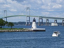 Newport Harbor Light in Newport, Rhode Island (2008).jpg