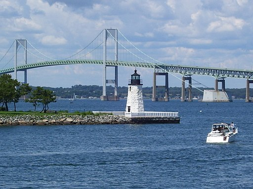 Newport Harbor Light in Newport, Rhode Island (2008)
