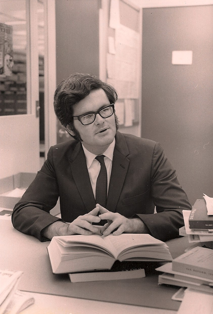 Newt Gingrich as a young professor in history