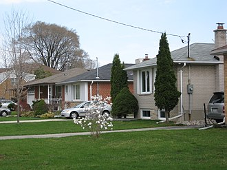 Newtonbrook - Residences in Newtonbrook. Residential developments in Newtonbrook began during the 1950s.