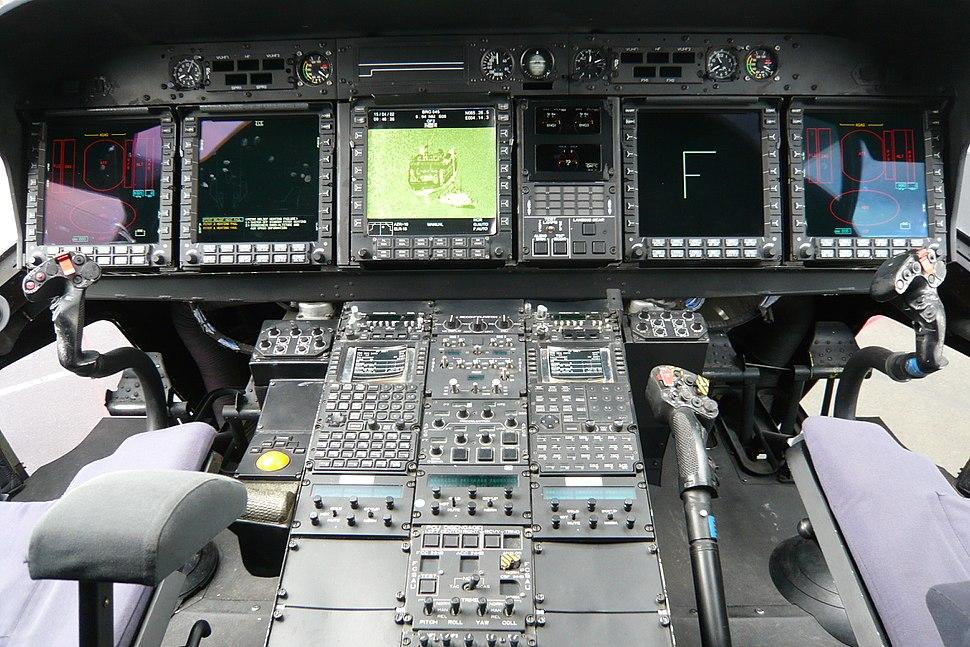 Nh90 cockpit