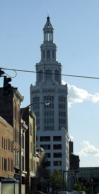 Electric Tower - Image: Niagara Mohawk Bldg Buffalo NY