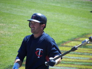 Minnesota Twins infielder Nick Punto during a ...