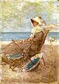 Nicolae Grigorescu - La mujer y el mar.jpg
