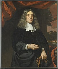 Portrait of Wigbold Slicher (June 27, 1627 -June 5, 1718), Receiver-general of the Admiralty in Amsterdam