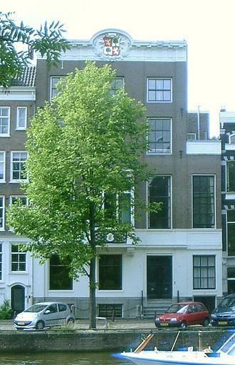 Isaac de Pinto - Nieuwe Herengracht 99