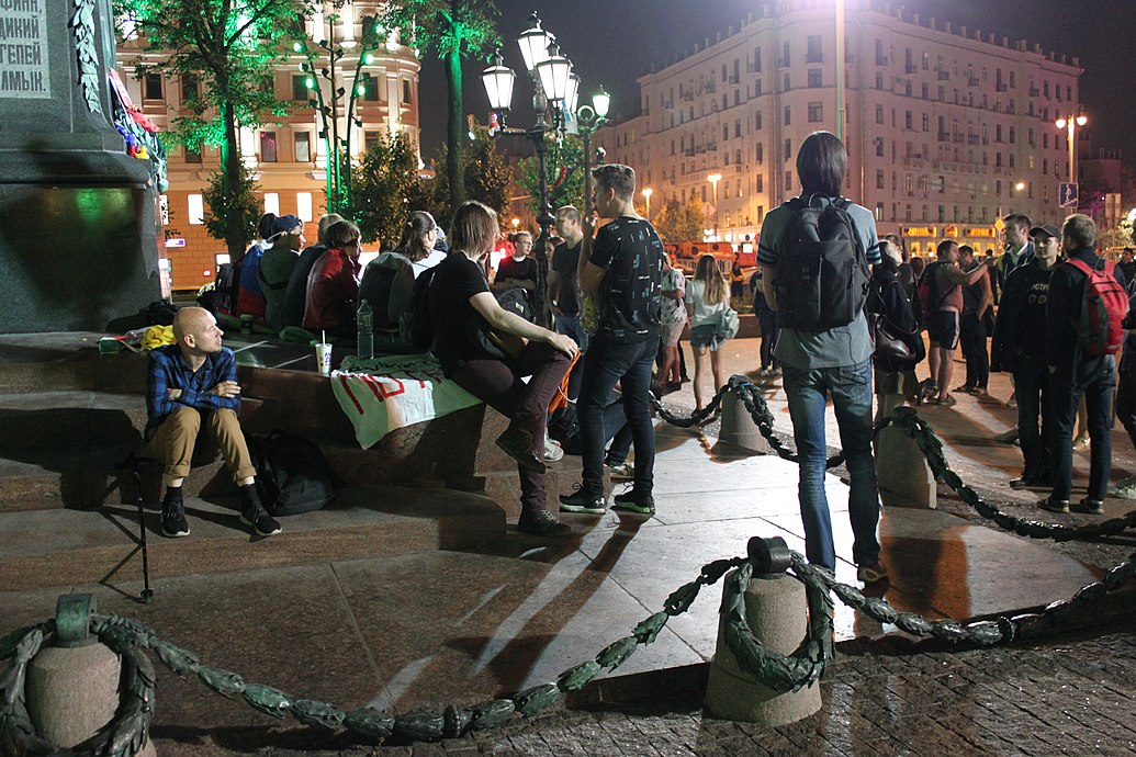 Night picket on Pushkin Square (2018-09-09) 08.jpg