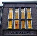 Nijmegen van Schevichavenstraat 12 Gymnasium detail gevel.JPG