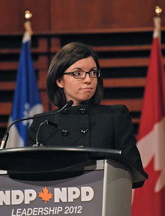New Democratic Party leadership election, 2012 - Niki Ashton