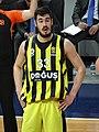 Nikola Kalinic (basketball) 33 Fenerbahçe Men's Basketball 20180222 (1).jpg