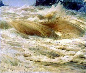 Nikolay Dubovskoy - Image: Nikolay Dubovskoy Vodopad Imatra 1893