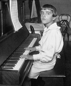 Nino Rota - Nino Rota at age 12