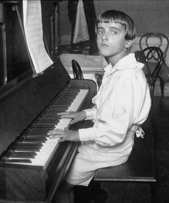 Nino Rota - Rota at age 12.
