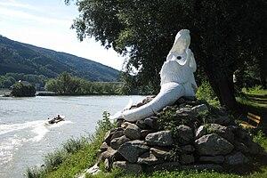Donaunixe Isa in Jochenstein