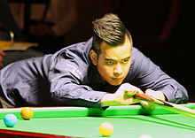 Noppon Saengkham playing a shot