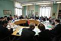 Nordiskt miljoministermote under Nordiska radets session i Stockholm 2004.jpg
