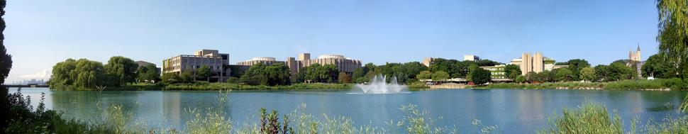 Panorama of Northwestern University