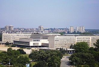 New Belgrade - SIV 1 or Palata Srbije
