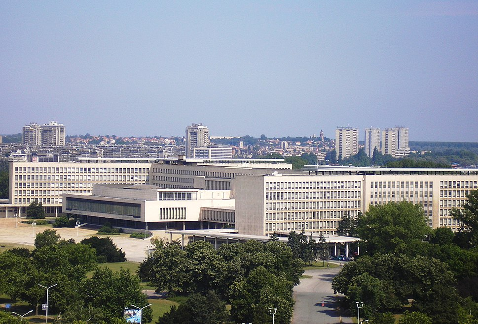 Novi Beograd - The SIV building