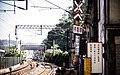 Nuannuan Street Level Crossing, Keelung City 20150214.jpg