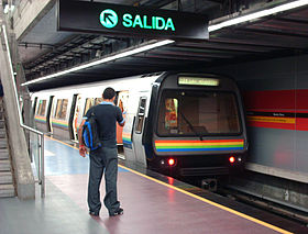 Image illustrative de l'article Métro de Caracas