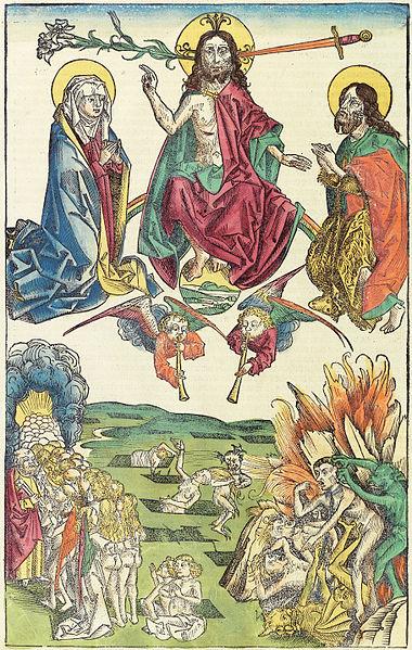 Мистика Апокалипсиса Иоанна Богослова. Свободное изображение Викимедии.