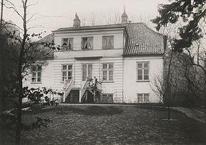 Ny Bakkegård - Ny Bakkegård in c. 1900