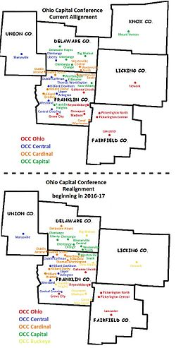 Ohio Capital Conference locations