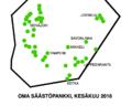 OMA Säästöpankki branches June 2016.png