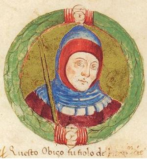Obizzo II d'Este, Marquis of Ferrara - Obizzo II d'Este