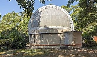 Toulouse Observatory - Image: Observatoire de Toulouse Coupole du télescope de 83 cm