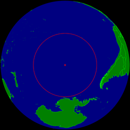 Oceanic pole of inaccessibility
