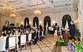 Official dinner reception was hosted in honor of Ilham Aliyev in Singapore, 2012 05.jpg
