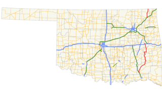 Oklahoma State Highway 2 highway in Oklahoma