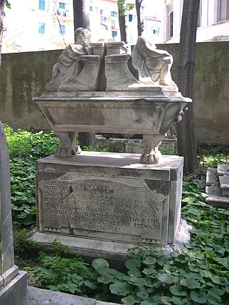 Old English Cemetery, Livorno - Catherine Murray's grave