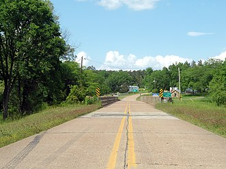 Arkansas Highway 22 - Image: Old Highway 22, New Blaine, AR